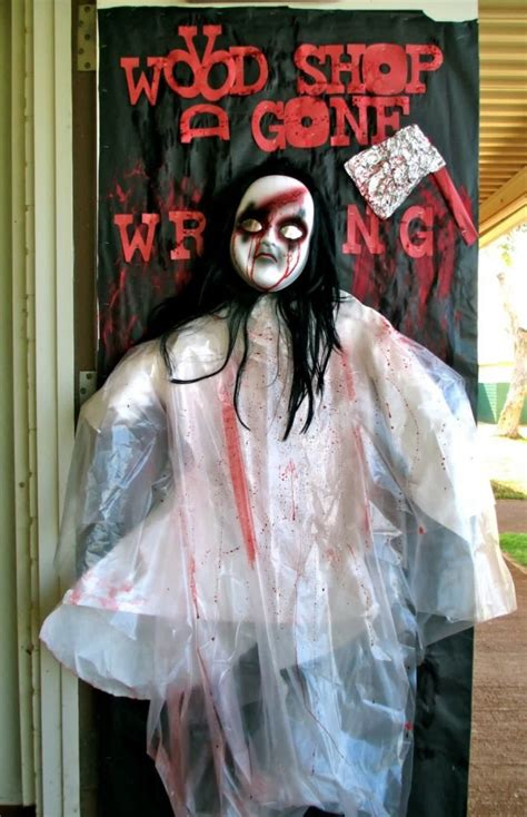 Scary Door Decorating Contest Ideas - 31 ideas decorations door for warm welcome