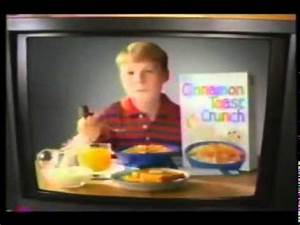 Cinnamon Toast Crunch Cereal 90s Commercial - YouTube