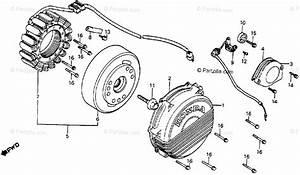 Honda Motorcycle 1985 Oem Parts Diagram For Alternator