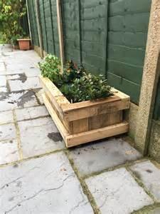 Repurposed Wooden Pallet Planter