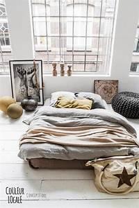 Lit Au Sol : chambre un lit au sol une hirondelle dans les tiroirs ~ Teatrodelosmanantiales.com Idées de Décoration