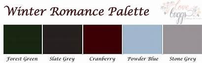 Romance Winter Palette Inspiration Colors Capitolromance Dc