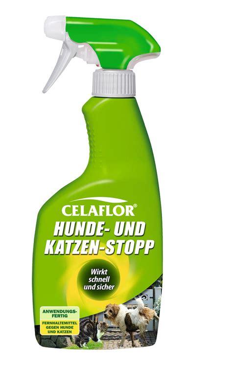 fernhaltemittel gegen katzen celaflor hunde und katzen stopp 500 ml