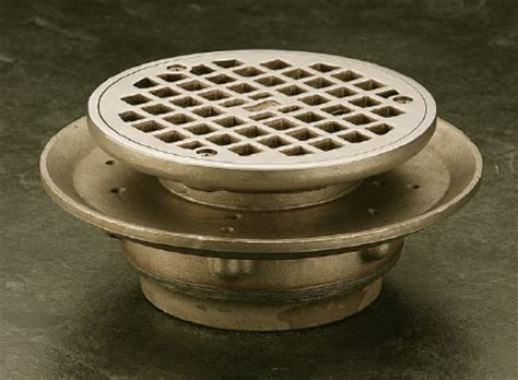 jr smith floor drain 2220 floor drains with adjustable strainer r smith