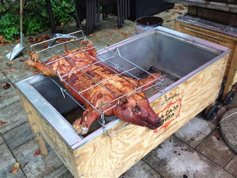 Pig Roast Cooking Instructions Video Guide  Diy Circle Menu Cards Air Freshener Spray With Essential Oils Crafts Phone Holder From Toilet Paper Rolls Innova Outdoor Coffee Table Cooler Door Stopper Rustic Doily Wedding Invitations I M Getting Married Birthday Cake For Husband Bird Cage Ideas