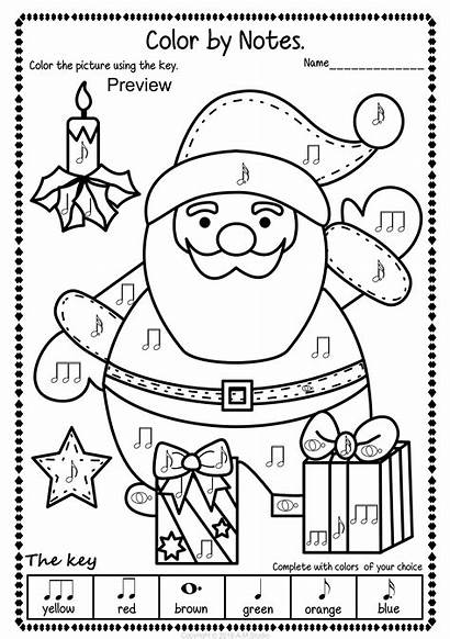 Christmas Pack Worksheets Activities Coloring Pages Activity