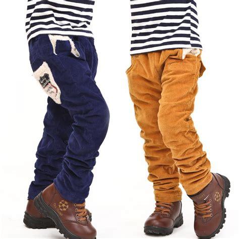 Corduroy pants kids - Pi Pants