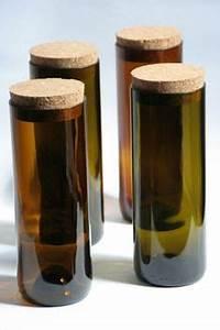 Glasschneider Für Flaschen : wandelwerkdesign vorratsdosen aus alten weinflaschen basteln und allerlei pinterest alte ~ Watch28wear.com Haus und Dekorationen