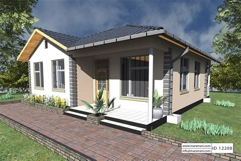 2 Bedroom House Queensbury by 2 Bedrooms House Plan Id 12208 House Plans By Maramani