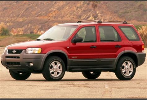 Ford Escape 2001 used ford escape review 2001 2006 carsguide