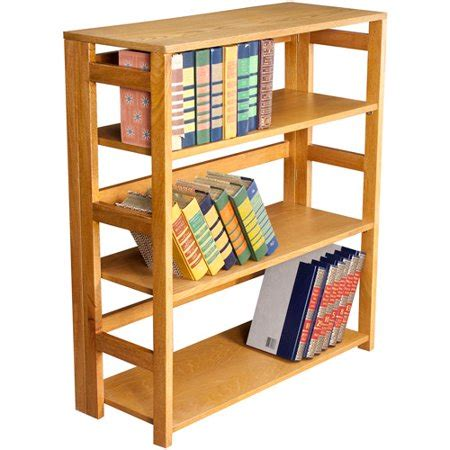 3 shelf bookcase walmart flip flop 3 shelf folding bookcase finishes