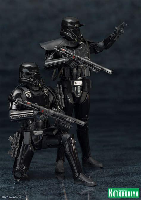 rogue  death trooper artfx statue  pack  toyark