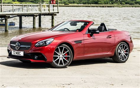 Mercedes Slc Class Backgrounds by Mercedes Amg Slc 43 2016 Uk Wallpapers And Hd Images