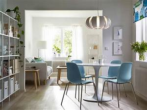 design scandinave salle a manger en 58 idees inspirantes With salle À manger contemporaine avec armoire design scandinave