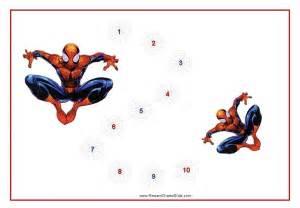 Spider-Man Reward Chart Printable