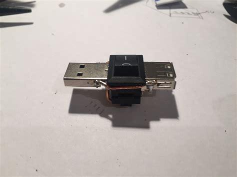 comment faire un interrupteur pour couper l alimentation d un port usb printf