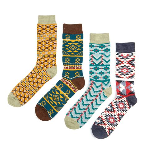 set of 3 assorted color fine cotton mens monogrammed the ash day forest sock assorted set of 4 sock it