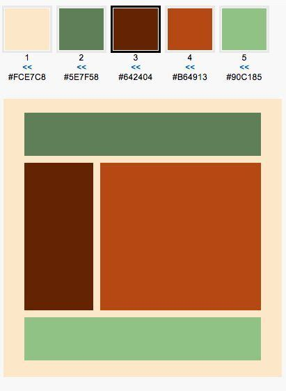 What Color Goes With Rust Orange Musiquemakerscom