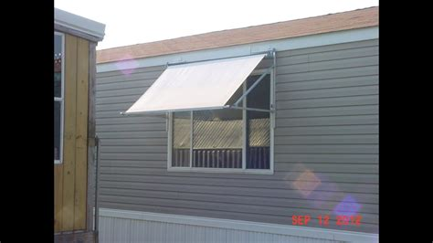 awning construction  window youtube