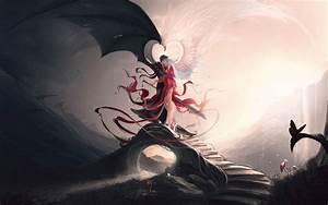 Angel and demon wallpaper #17211