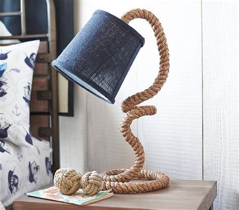 Rope Knot Table Lamp Base   Pottery Barn