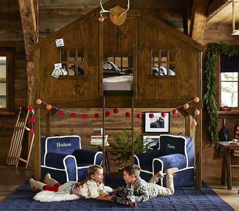 treehouse loft bed pottery barn kids ca