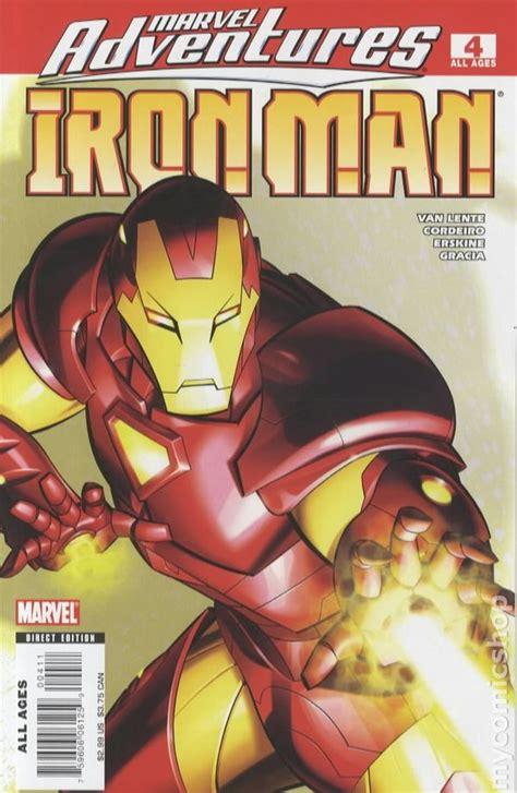 marvel adventures iron man  comic books