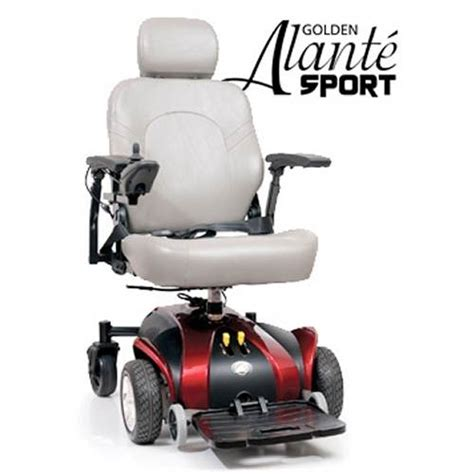 golden technologies golden alante sport power wheelchair gp205