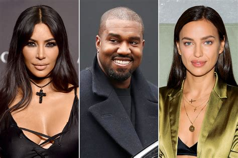 Kanye west has had his eye on irina shayk since he and estranged wife kim kardashian went their separate ways — and so far, the new couple's relationship is going swimmingly. Kim Kardashian Has Known About Kanye West, Irina Shayk for 'Weeks'   PEOPLE.com