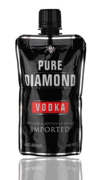 pure diamond vodka   pouch foodbev media