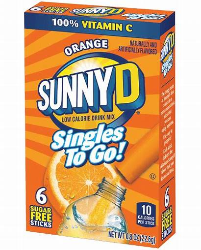 Singles Orange Sunnyd Drink Sunny Water Bottle