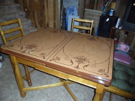 Vintage Metal Top Kitchen Table   Collectors Weekly