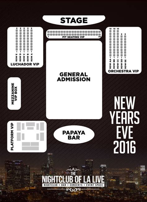 Conga Room La Live Hours by Conga Room S Annual Nye 2016 With La Sonora Dinamita