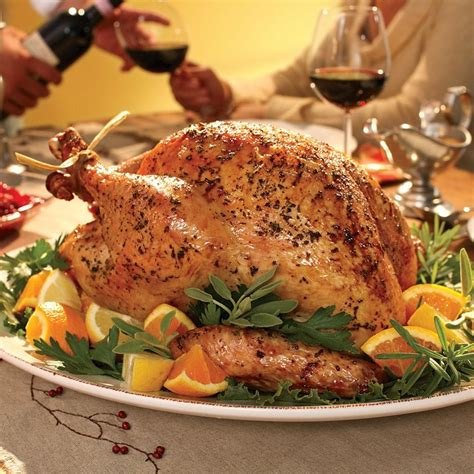 turkey recipes herb roasted turkey recipe eatingwell