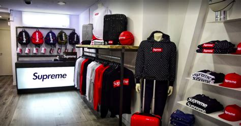 supreme clothing store supreme stores are booming in spain