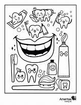 Dental Health Oral Coloring Dentist Teeth Activities Adults Care Education Dentalhealth Wellness sketch template