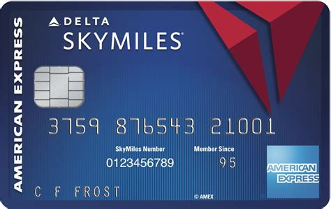 The delta skymiles® blue american express card isn't the most rewarding delta credit card available today, yet it is the only one with no annual fee. Delta Blue SkyMiles Credit Card from American Express 10,000 Miles Bonus + Receive A 20% In ...