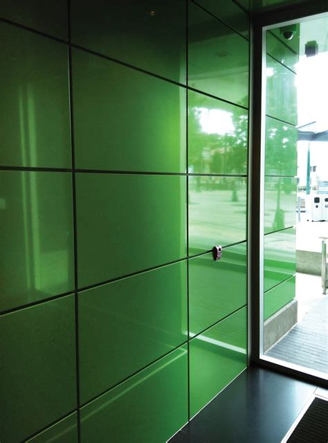 green hued alucobond spectra reflects sustainable design  mixed  community