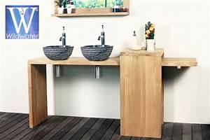 Pied Pour Meuble De Salle De Bain : meubles de salle de bain en teck collection boys ~ Teatrodelosmanantiales.com Idées de Décoration