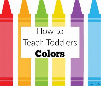 Toddlers Colors Teach Lesson Toddler Learning Plan