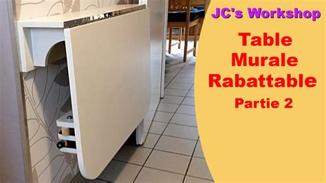 table murale cuisine rabattable comment faire une table de cuisine murale rabattable 2 2