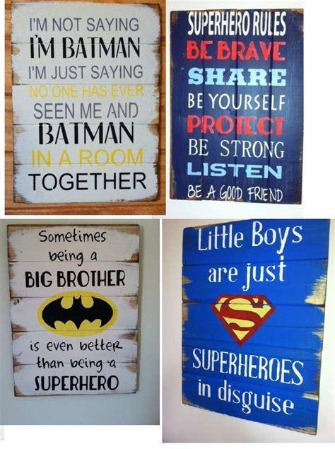 Find All Your Superhero Signs Here  Caleb  Pinterest