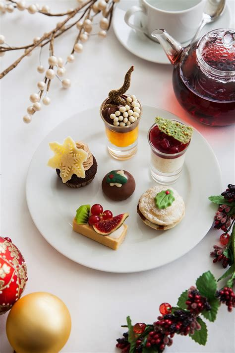 kate and chelsie decadent christmas afternoon tea at the