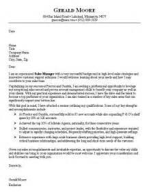 Cover Letter Sle For Sales Associate Professional Sales Cover Letters For Resumes Recentresumes