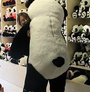 Riesen Panda Kuscheltier : pl sch pandab r 200 cm panda b r xxl teddyb r stofftier pl schtier kuscheltier teddy geschenk ~ Orissabook.com Haus und Dekorationen