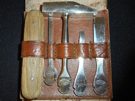 Antique Abercrombie & Fitch Tool Kit -old/vtg Knife Collection -exchange-blade Antique Looking Parchment Paper Rocking Chairs Value Car Auctions Dallas Style Cz Rings American Sword Identification Jeffrey S Mall Springfield Ohio Fort Worth Kitchen Hutch With Flour Mill