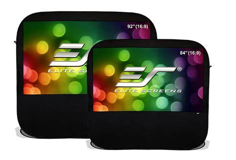 outdoor  projector screens elite screens