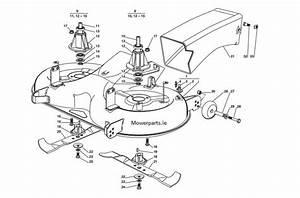 Honda Deck Shell Fits  40 U0026quot   102cm Models  2000 To 2008  Hf2213  Hf2417  Hf2216