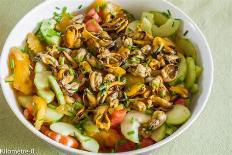 la cuisine de manon salade grecque aux moules et crevettes kilometre 0 fr