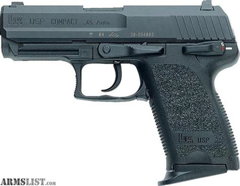 Armslist  For Sale Brand New H&k Usp Compact In 45acp